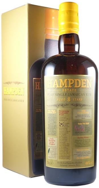 Hampden Estate 8-Year-Old Pure Single Rum