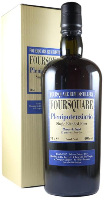 Foursquare Plenipotenziario Single Blended Rum