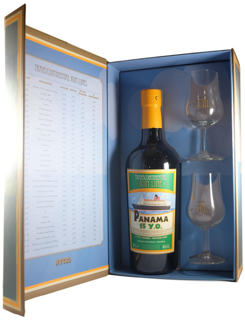 Transcontinental Rum Line Panama 15-Year-Old Gift Pack