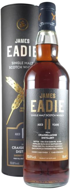 James Eadie Craigellachie 11-Year-Old Sherry Cask Finish