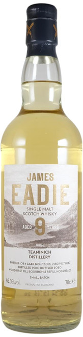 James Eadie Teaninich Small Batch 8-Year-Old