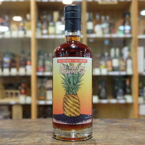 Boutique-y Spit-Roasted Pineapple Gin