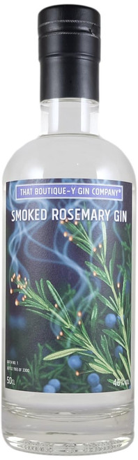 Boutique-y Smoked Rosemary Gin
