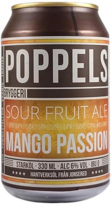Poppels Sour Fruit Ale  Mango Passion