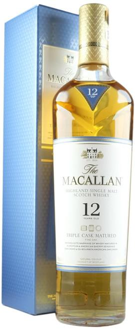 Macallan 12-Year-Old Triple Cask Fine Oak Single Malt Scotch Whisky