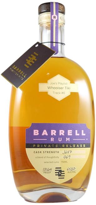 Barrell Private Release Rum 'Whooiser Tiki' Track #6