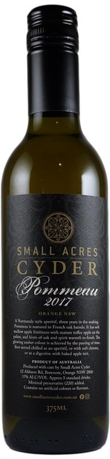 Small Acres Pommeau - Aged Cider 2017