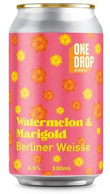 One Drop Watermelon & Marigold Berliner Weisse