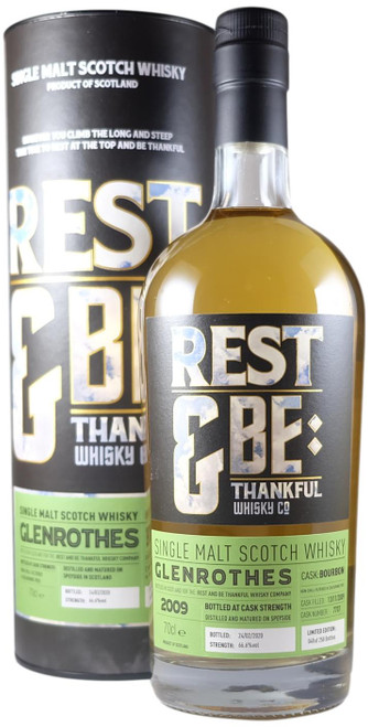 Rest & Be Thankful Glenrothes 2009 10-Year-Old