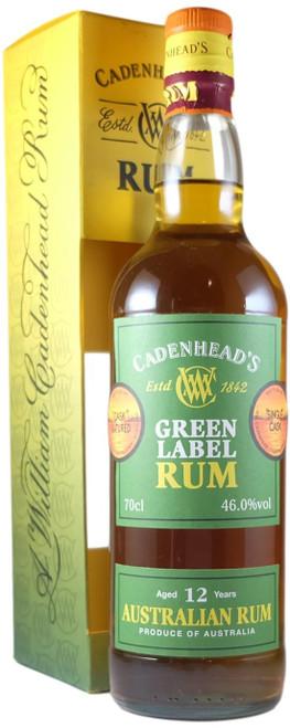Cadenhead Green Label Australian 12-Year-Old Rum