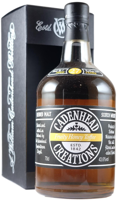 Cadenhead Creations 'Fruity Honey Toffee' 27-Year-Old Batch 1