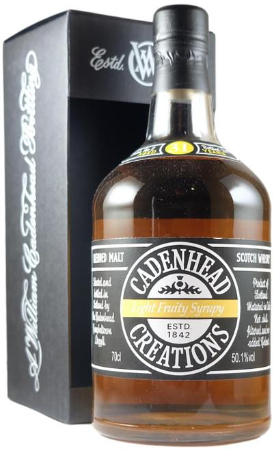 Cadenhead Creations 'Fruity Light Syrupy' 31-Year-Old Batch 2