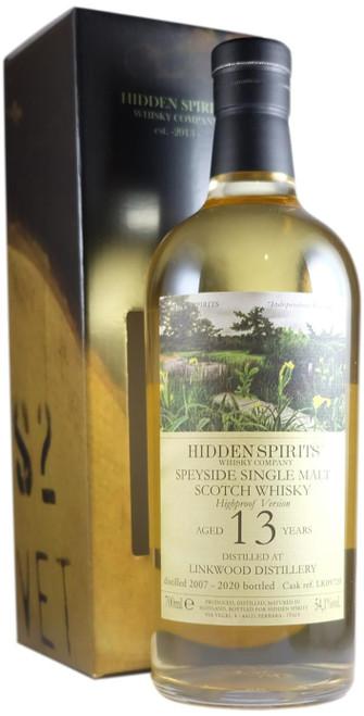 Hidden Spirits Linkwood 2007 13-Year-Old