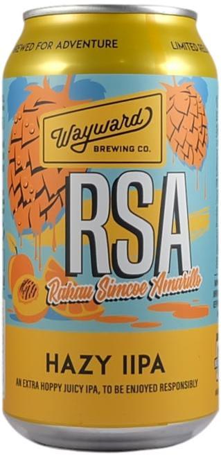 Wayward  RSA Hazy IIPA