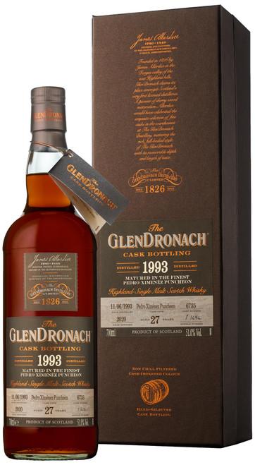 GlenDronach 1993 Single Cask #6735 (Batch 18)