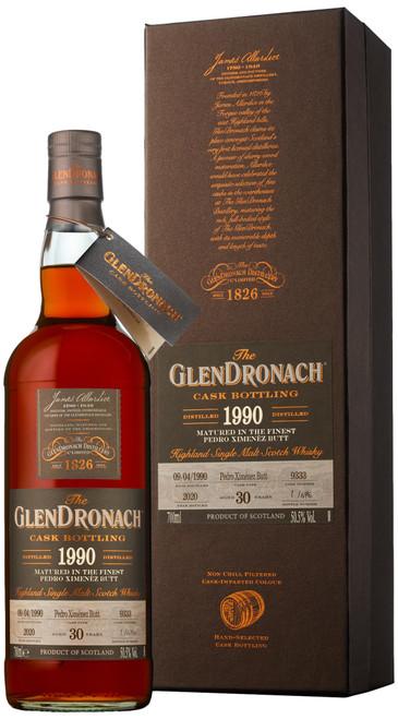 GlenDronach 1990 Single Cask #9333 (Batch 18)