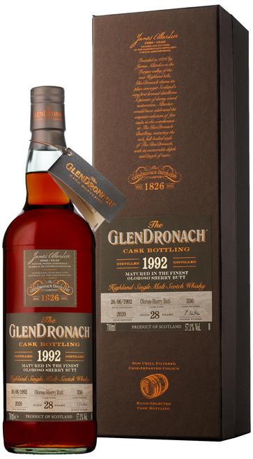 GlenDronach 1992 Single Cask #336 (Batch 18)