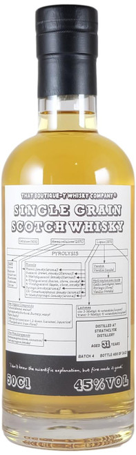 Boutique-y Strathclyde 31-Year-Old Batch 4