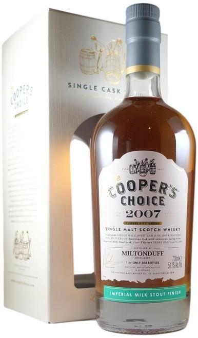 Cooper's Choice 2007 13-Year-Old Miltonduff
