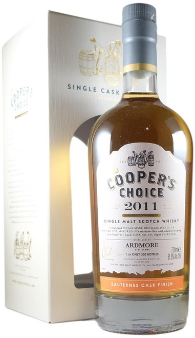 Cooper's Choice 2011 8-Year-Old Ardmore