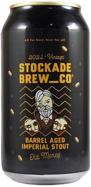 Stockade Old Money Barrel Aged Imperial Stout 2021