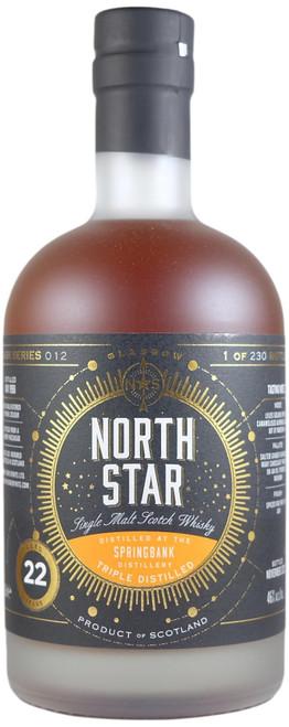 North Star Springbank Triple Distilled (Hazelburn) 1998 22-Year-Old