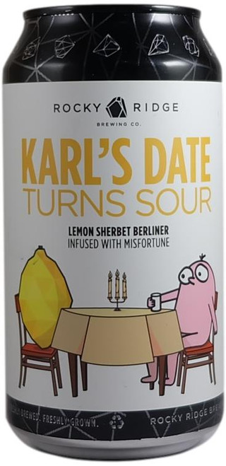 Rocky Ridge Karl's Date Turns Sour Lemon Sherbet Berliner