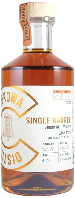Corowa American Oak Port Single Barrel #44 Australian Single Malt Whisky