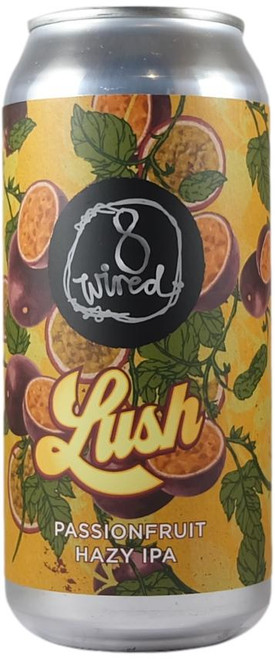 8 Wired Lush Passionfruit Hazy IPA 440ml