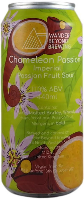 Wander Beyond Chameleon Passion - Imperial Passion Fruit Sour 440ml