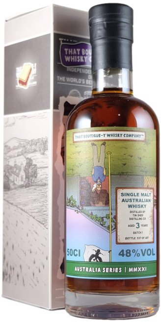 Boutique-y Tin Shed (Iniquity) 3-Year-Old Batch 1
