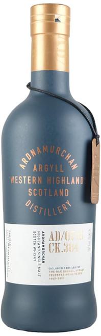 Ardnamurchan  Single Cask AD/07:15 CK.384 Oak Barrel Exclusive Single Malt Scotch Whisky