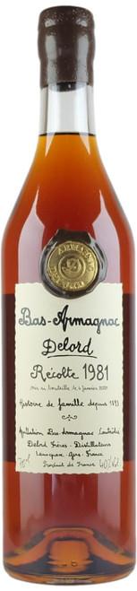 Delord 1981 Bas Armagnac