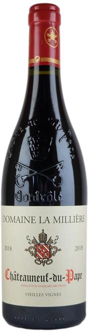 Domaine La Milliere Chateauneuf-du-Pape Rouge Vieilles Vignes 2018