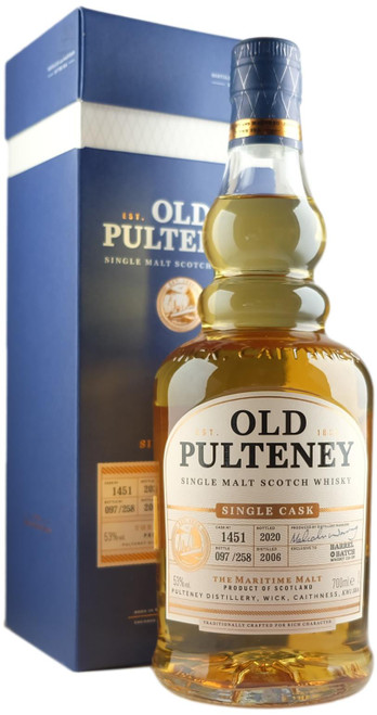 Old Pulteney 13-Year-Old Single Cask For Barrel & Batch