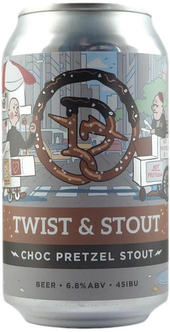 Dainton 'Twist & Stout' Choc Pretzel Stout