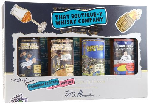 Boutique-y Whisky Company Premium Scotch Set