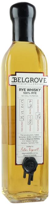 Belgrove Any Port In A Storm Cask Tasmanian Rye Whisky