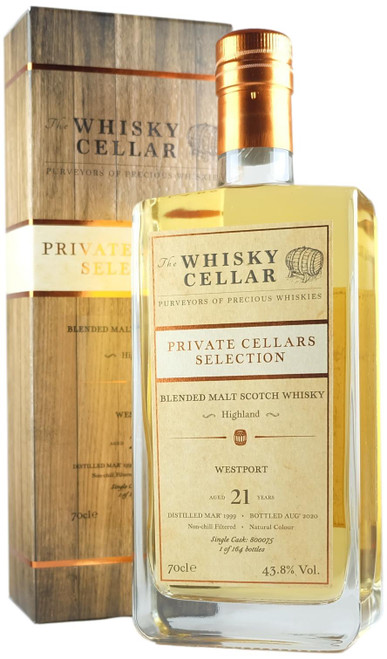 Whisky Cellar Westport 21-Year-Old