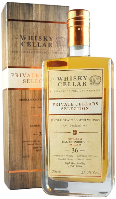 Whisky Cellar Cameronbridge 36-Year-Old