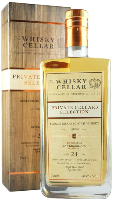 Whisky Cellar Invergordon 24-Year-Old