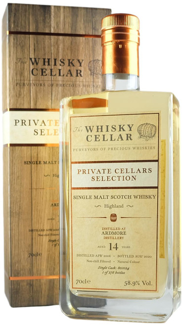 Whisky Cellar Ardmore 14-Year-Old