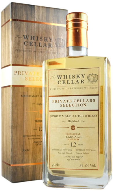 Whisky Cellar Teaninich 12-Year-Old