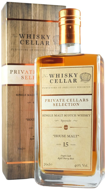 Whisky Cellar House Malt Speyside 15-Year-Old