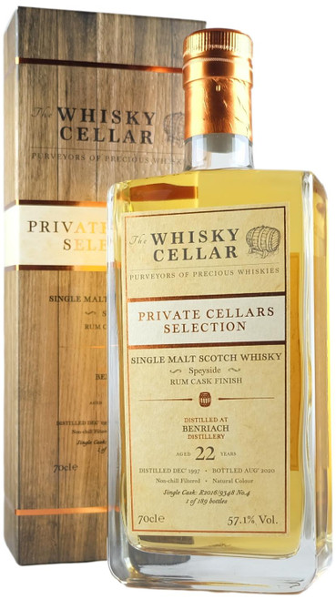 Whisky Cellar BenRiach 22-Year-Old