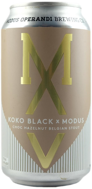 Modus Operandi / Koko Black - Choc Hazelnut Belgian Stout