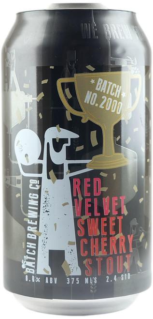 Batch  2000th Batch - Red Velvet Sweet Cherry Stout