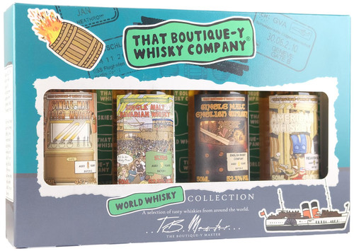 World Whisk(e)y Virtual Tasting With That Boutique-y Whisky Company (Tue 20 July)