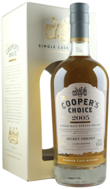 Cooper's Choice 2005 15-Year-Old Secret Orkney