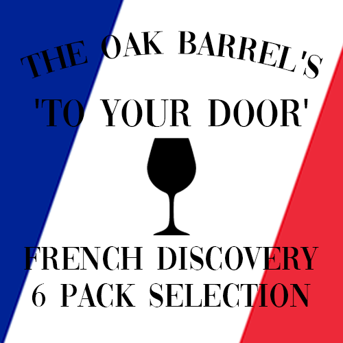 Oak Barrel's 'To Your Door' French Discovery 6 Pack Selection
